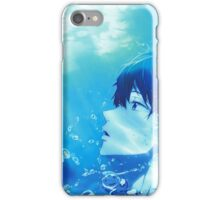 Summer Free! Haruka Nanase  iPhone Case/Skin