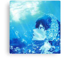 Summer Free! Haruka Nanase  Canvas Print