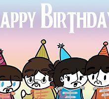 Sgt Pepper Birthday Card by CharlieeJ