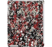paint drop design - abstract spray paint drops 4 iPad Case/Skin