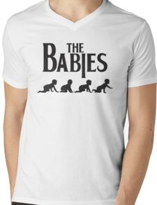 Babies Road Mens V-Neck T-Shirt