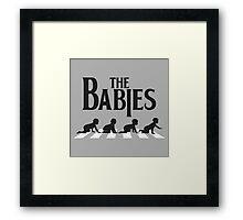 Babies Road Framed Print