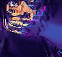 Danny Brown - Atrocity Exhibition  Sticker