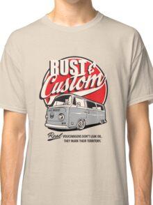 Rust & Custom Bay Window Campervan Classic T-Shirt