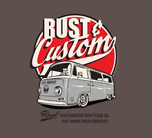 Rust & Custom Bay Window Campervan Unisex T-Shirt