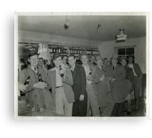 """""""Lets have a Beer or Two"""", Mayfield, Kentucky Canvas Print"""