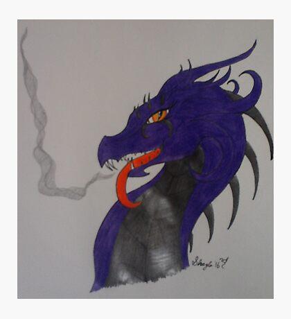 Poison Dragon Photographic Print