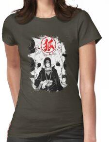 The Uchiha's Throne Womens Fitted T-Shirt