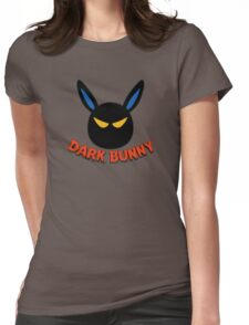 Dark Bunny Womens Fitted T-Shirt