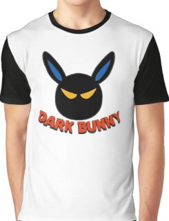 Dark Bunny Graphic T-Shirt