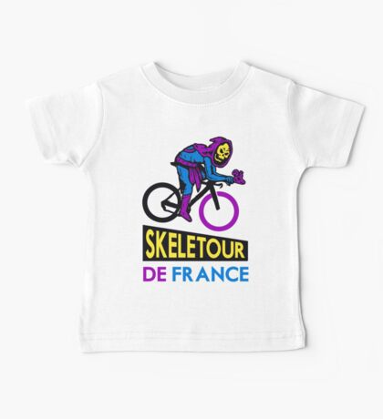 Cycling Skeletor Baby Tee