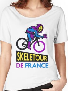 Cycling Skeletor Women's Relaxed Fit T-Shirt
