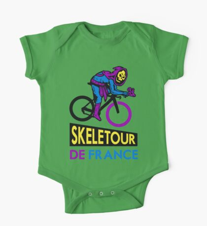 Cycling Skeletor One Piece - Short Sleeve