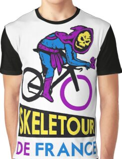 Cycling Skeletor Graphic T-Shirt