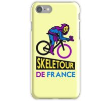 Cycling Skeletor iPhone Case/Skin