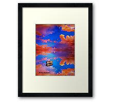 A World With No Boundaries Framed Print