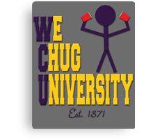 W(e)C(hug)University Canvas Print
