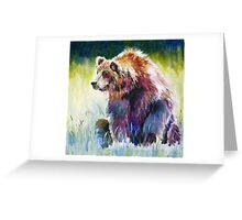 The Rainbow Bear Greeting Card