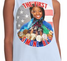 The FIRST Simone Biles Contrast Tank
