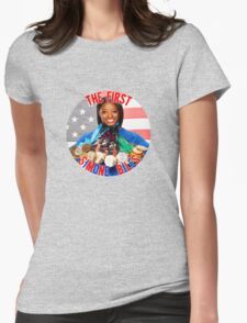 The FIRST Simone Biles Womens Fitted T-Shirt