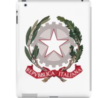 Italy Coat of Arms iPad Case/Skin