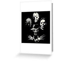 Horrorian Rhapsody Greeting Card