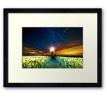 Life Beacon Framed Print