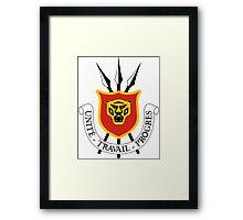Burundi Coat of Arms Framed Print