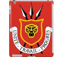 Burundi Coat of Arms iPad Case/Skin