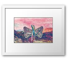 Psychedelic Lizard Framed Print