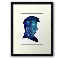 Doctor Who - tenth doctor David Tennant Framed Print