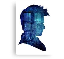 Doctor Who - tenth doctor David Tennant Canvas Print