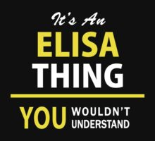 It's An ELISA thing, you wouldn't understand !! by satro