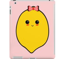 Cute lemon iPad Case/Skin
