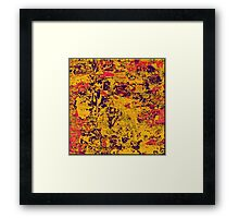 1056 Abstract Thought Framed Print