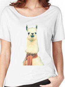 Creepy Alpaca  Women's Relaxed Fit T-Shirt