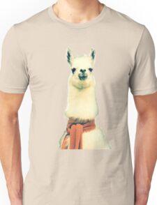 Creepy Alpaca  Unisex T-Shirt
