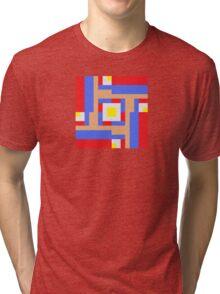 Sprite Fractal - Mario Tri-blend T-Shirt