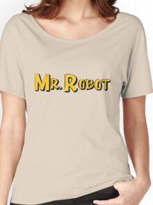 Word Up Wednesdays - Mr Robot - Sitcom Women's Relaxed Fit T-Shirt