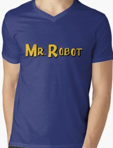 Word Up Wednesdays - Mr Robot - Sitcom Mens V-Neck T-Shirt