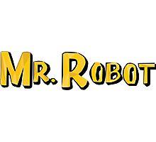 Word Up Wednesdays - Mr Robot - Sitcom Photographic Print