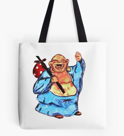 Adventure Buddha Tote Bag