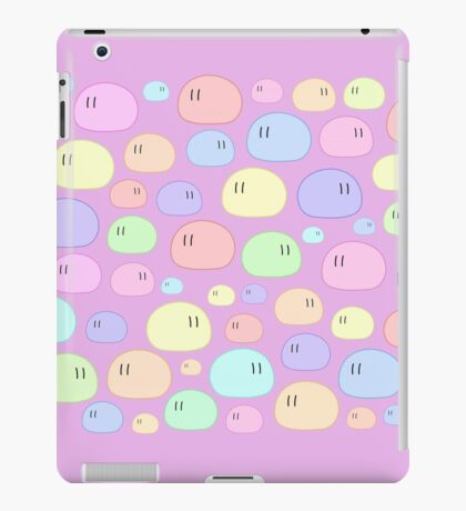 Dango | Black & Color Background Edition iPad Case/Skin