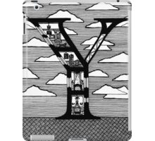 Letter Y Architecture Section Alphabet iPad Case/Skin