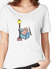 Buddha in the Rain Women's Relaxed Fit T-Shirt