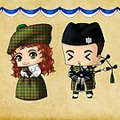 Scottish Chibis by artwaste