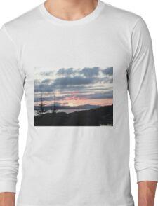 Last rays over Tingle Creek Long Sleeve T-Shirt