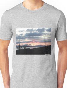 Last rays over Tingle Creek Unisex T-Shirt