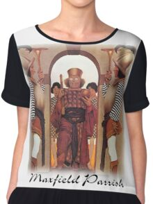 Parrish - The King of Hearts  Chiffon Top