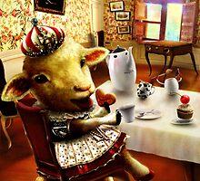 Royal Sheep by huiyuanchang